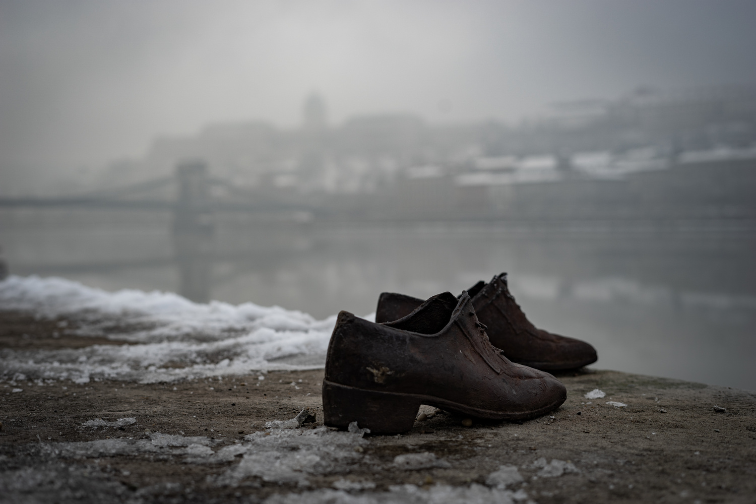 Shoes on the Danube by Byron Lenehan