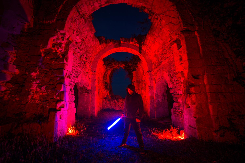 Lost Jedi Temple by Nicolas Thulliez
