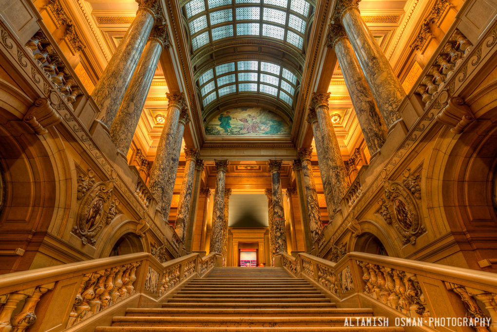Grand Staircase by Altamish Osman