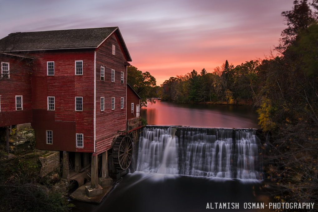 The Dells Mill by Altamish Osman