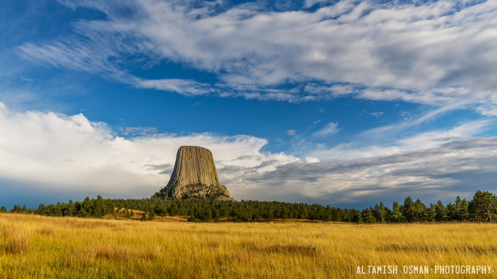 Devils Tower by Altamish Osman