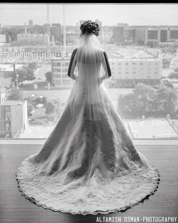 Wedding Dress by Altamish Osman