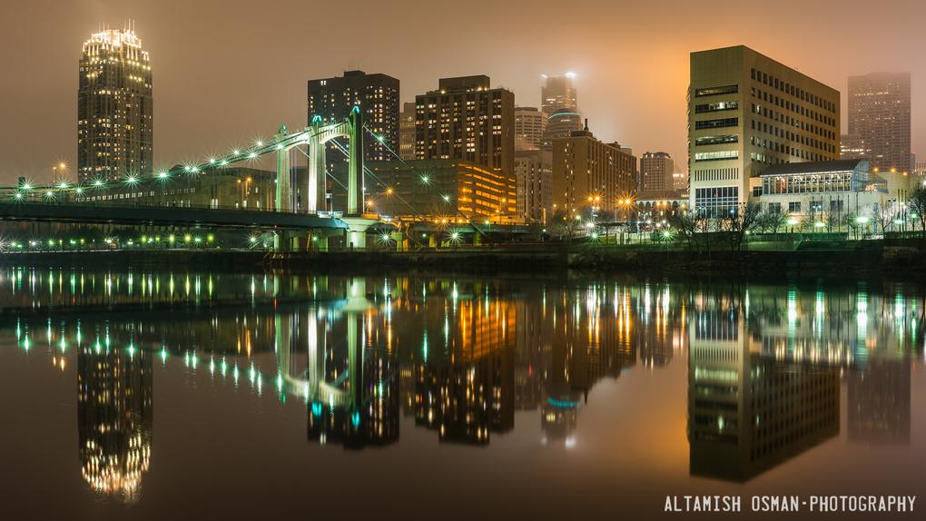 Minneapolis Fog by Altamish Osman