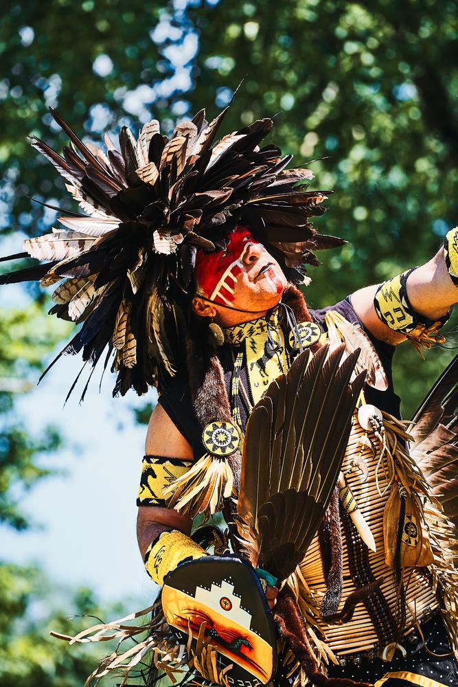 Lahnawake PowWow Sacred Ceremony by Matthieu Paugam