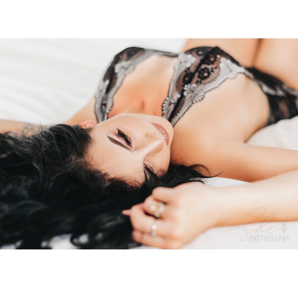 Bed time boudoir by Shelby Watterson