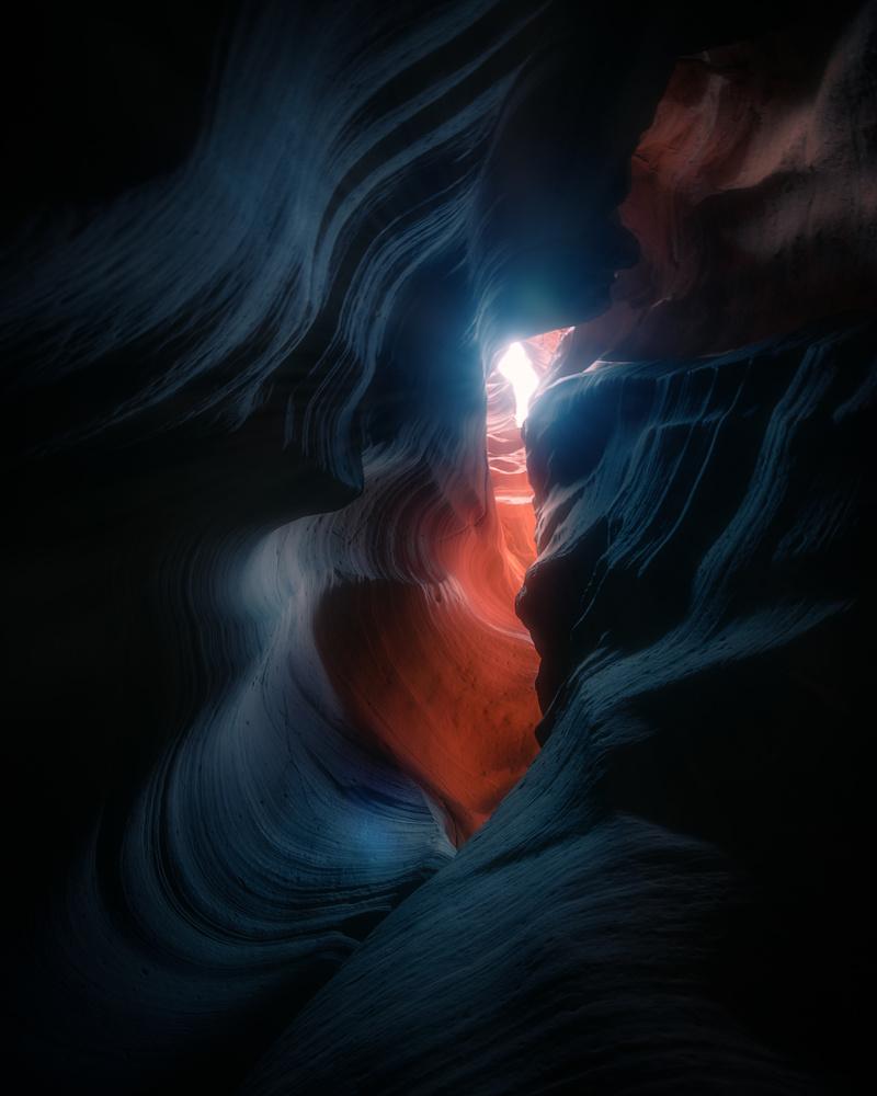 Antelope Canyon Lookup by Akshay Kokil