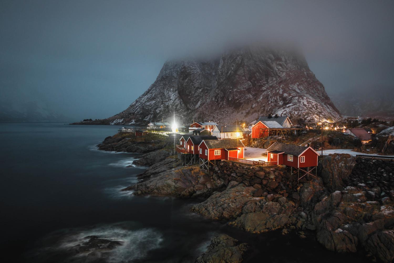 foggy arctic night by Calum Kozma