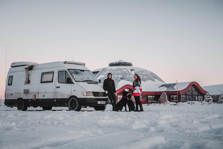 Arctic circle expedition by Calum Kozma