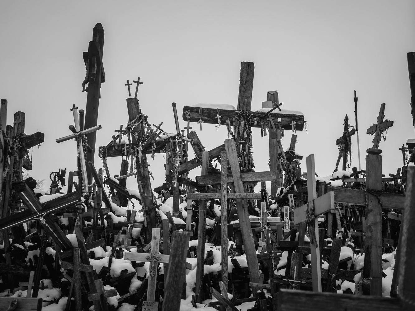 The hill of crosses by Calum Kozma