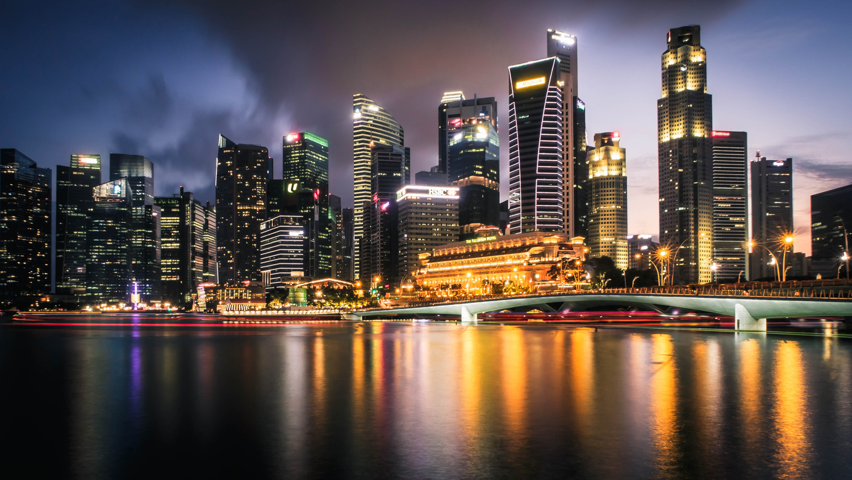 Singapore Skyline by Calum Kozma