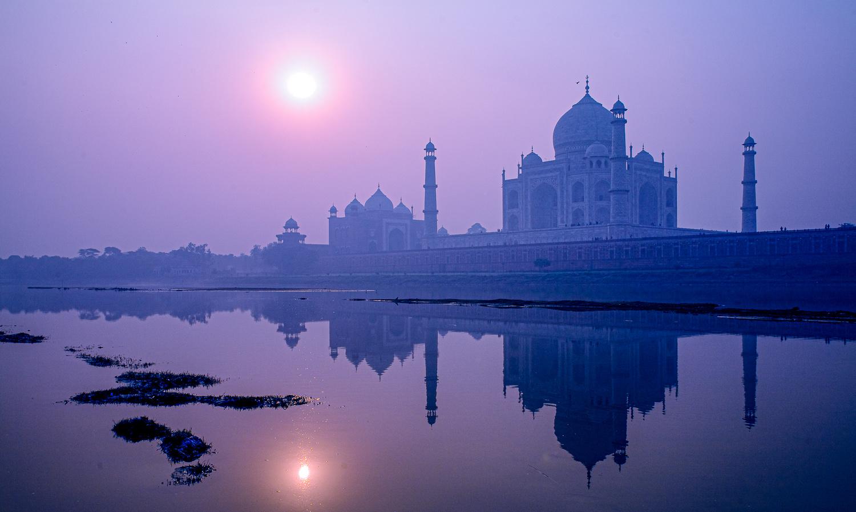 Morning Taj Mahal by Francois Lemmens