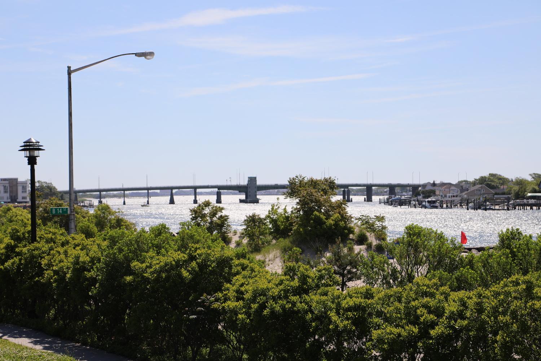 Atlantic Bridge Rockaway Beach by Joseph hijuelos