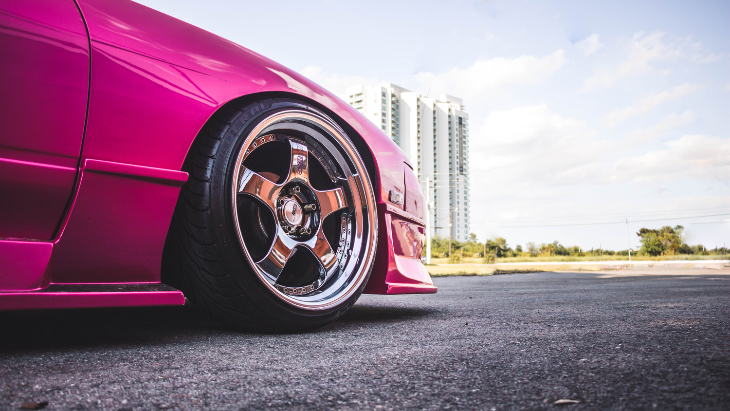 Pink 240SX by Race Alley