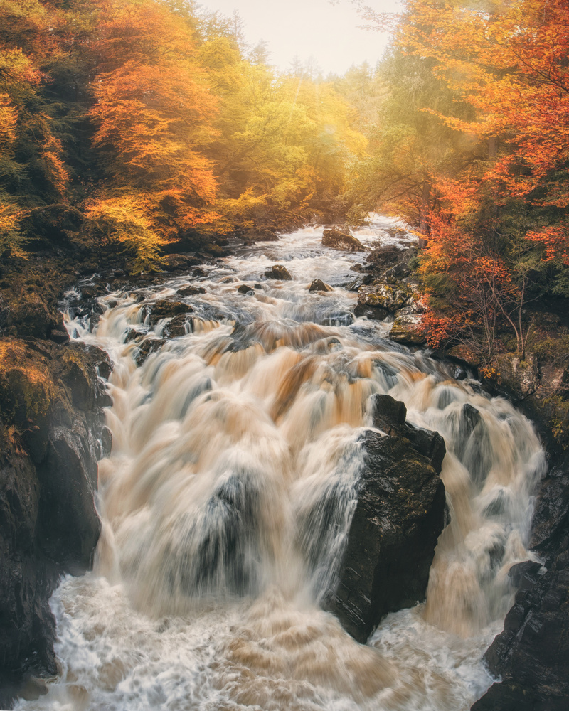 Black Linn Falls by Craig Doogan