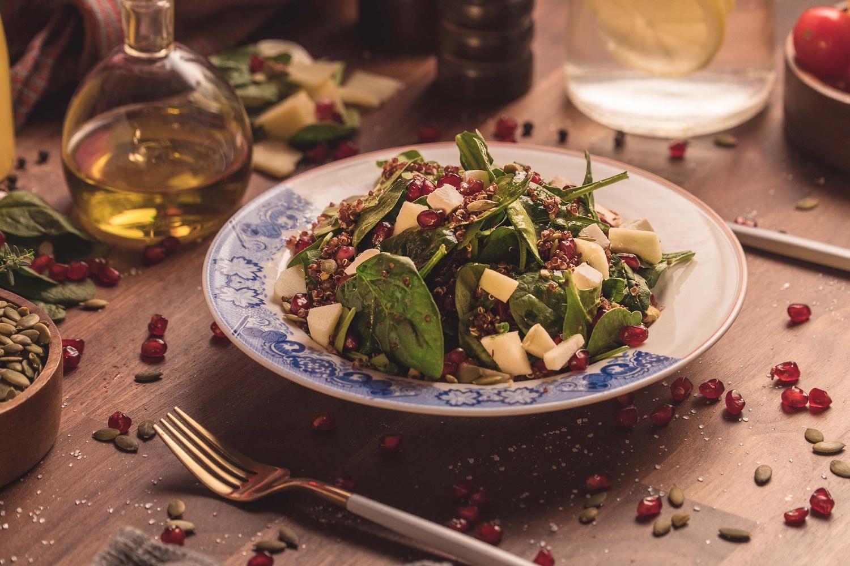 Pomegranate Salad by Hassan Kilani