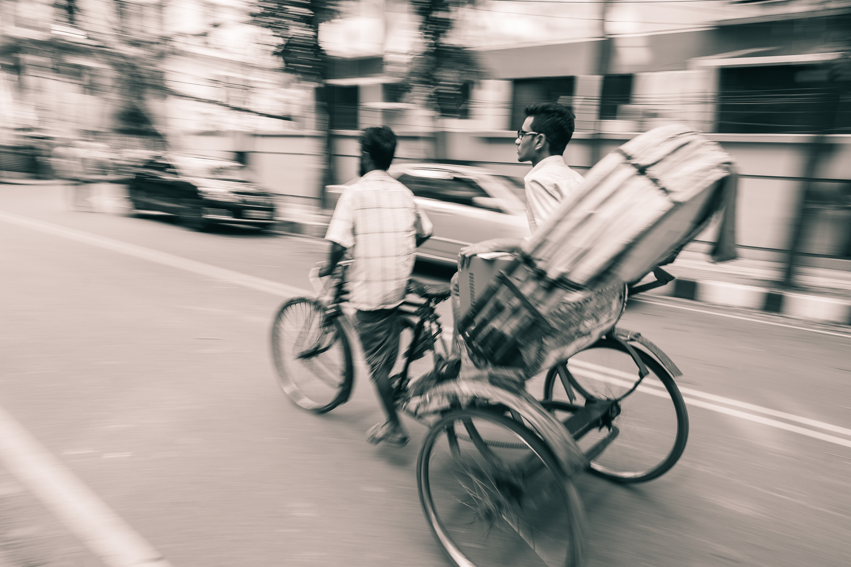 Dhaka On The Move by Hassan Kilani