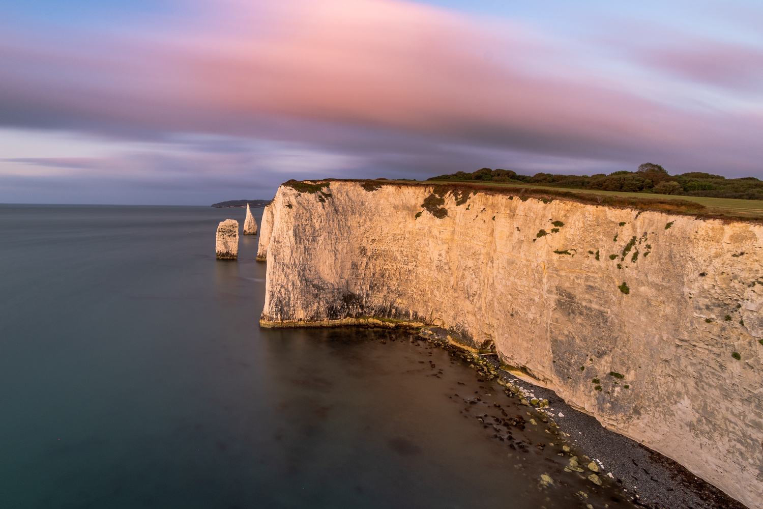 Old Harry Rocks by Karl Storbeck