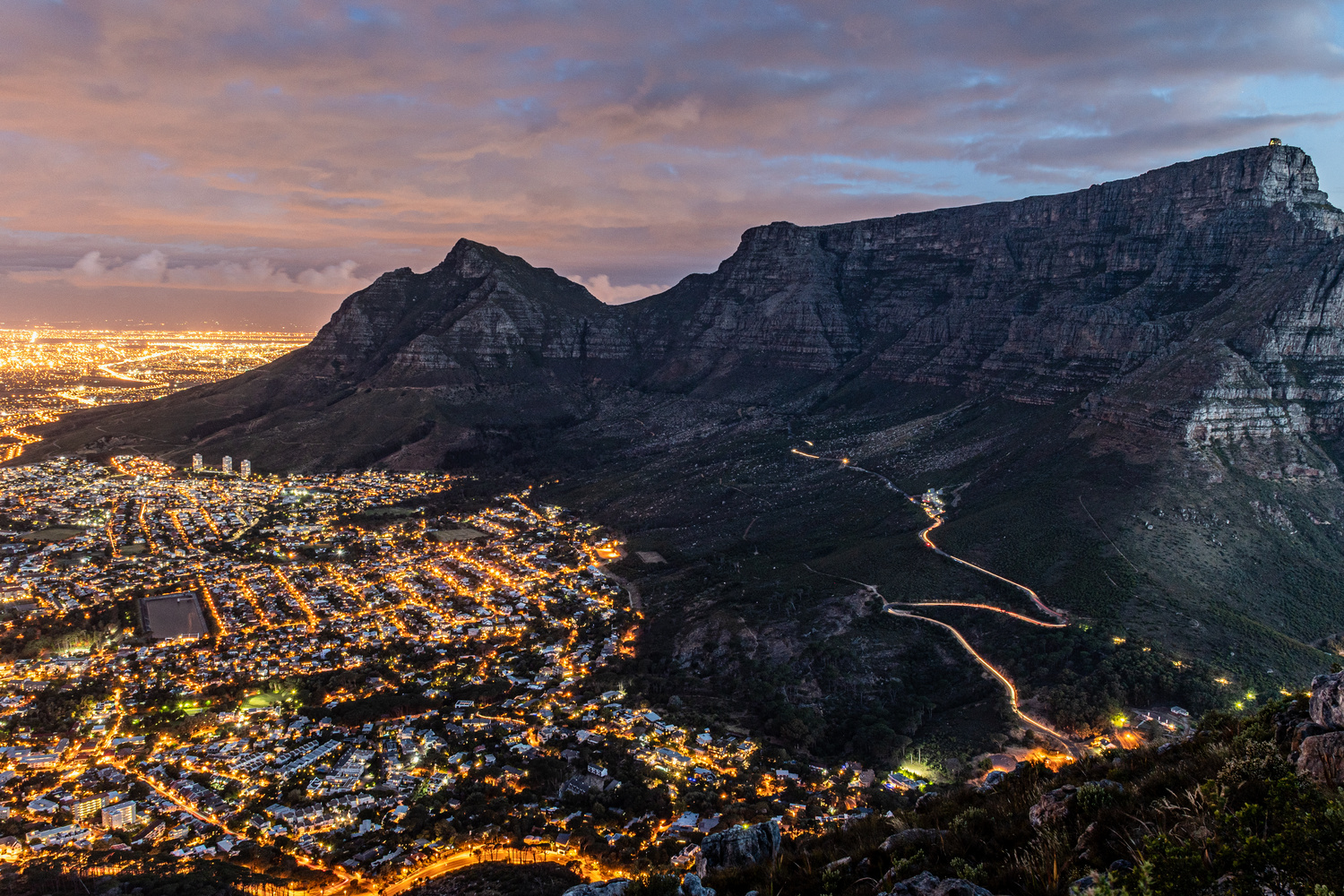 Table Mountain by Karl Storbeck