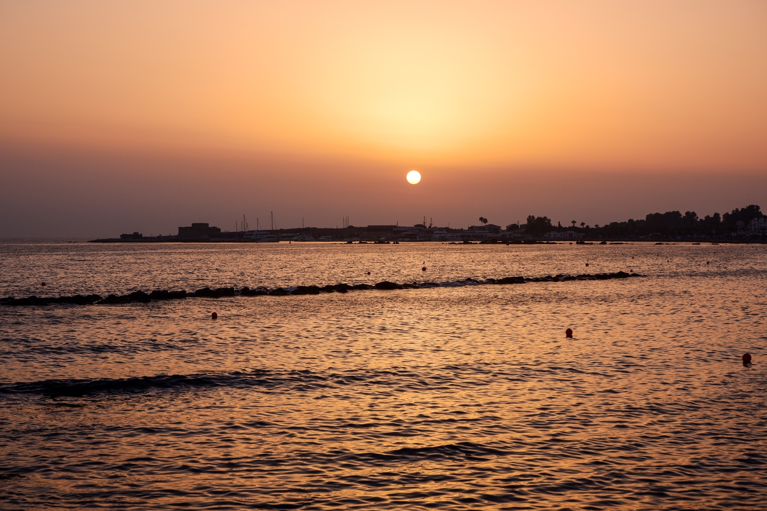 Cypriot Sunset by Ryley Hare