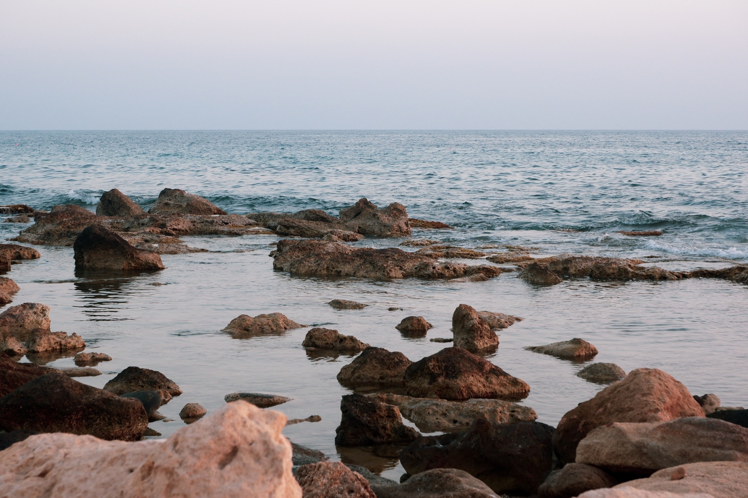 Stones & the Ocean by Ryley Hare