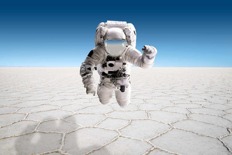 Astronaut from Altiplano by Klaus Balzano