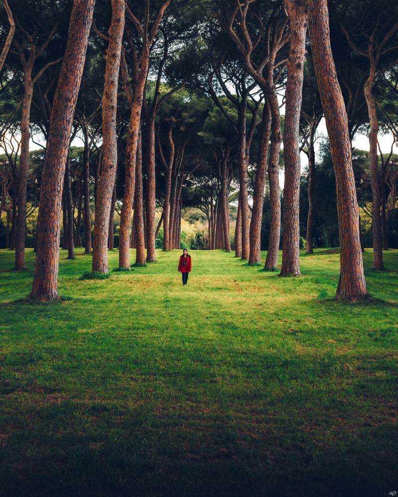 Villa Doria Pamphili Park by Nickolas Koursioumpas