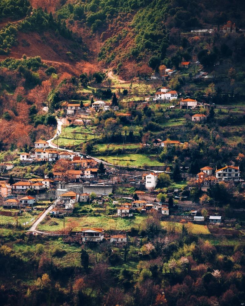Old Village, Trikala, Greece by Nickolas Koursioumpas