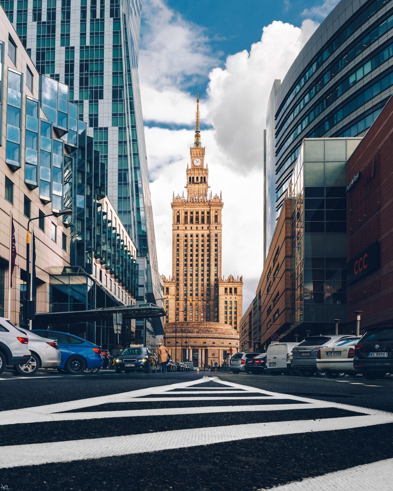 Palace of Culture and Science, Warsaw, Poland by Nickolas Koursioumpas