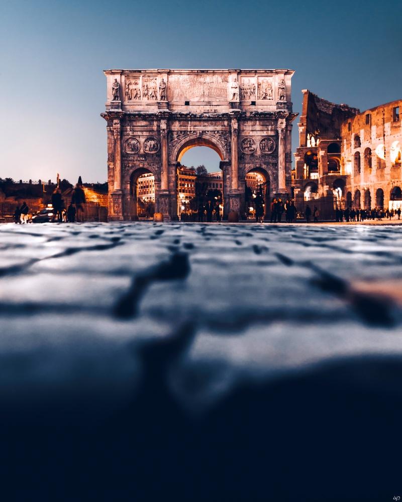 Arch of Constantine by Nickolas Koursioumpas