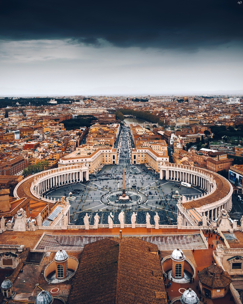 St Peters Basilica by Nickolas Koursioumpas
