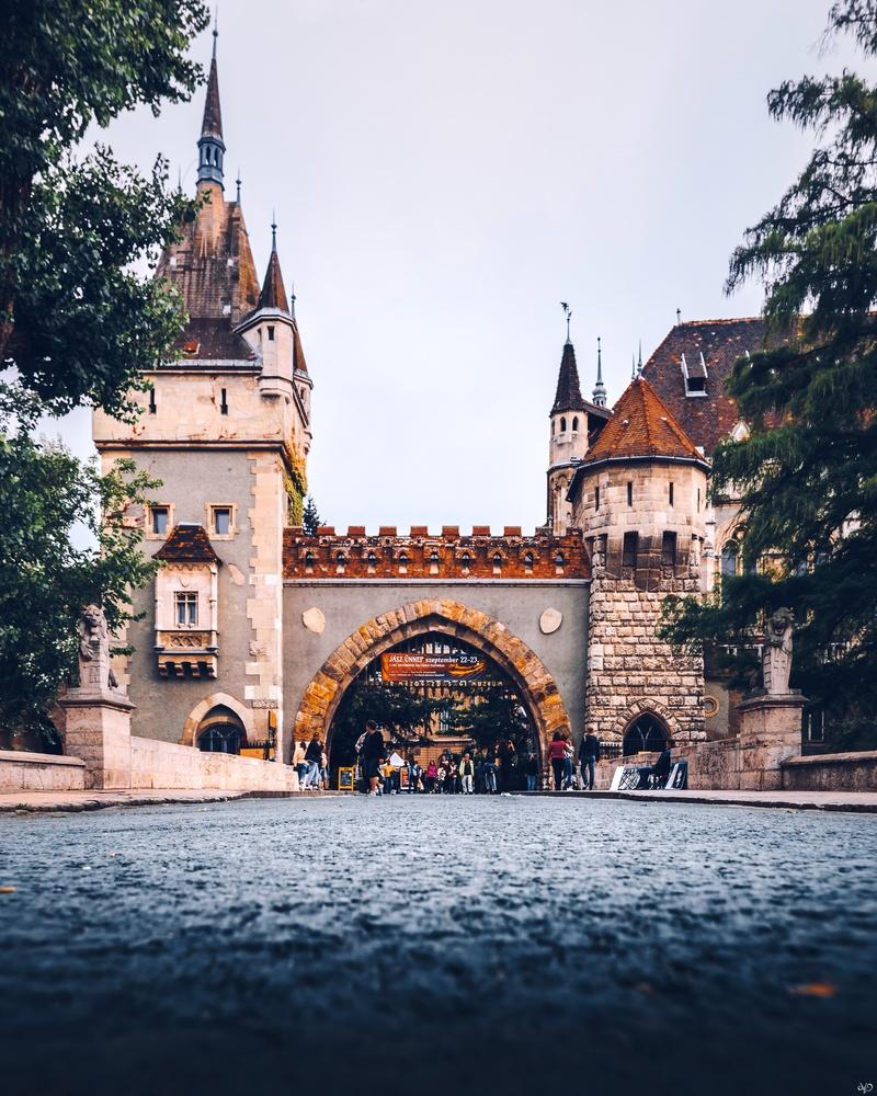 Vajdahunyad Castle, Budapest, Hungary by Nickolas Koursioumpas