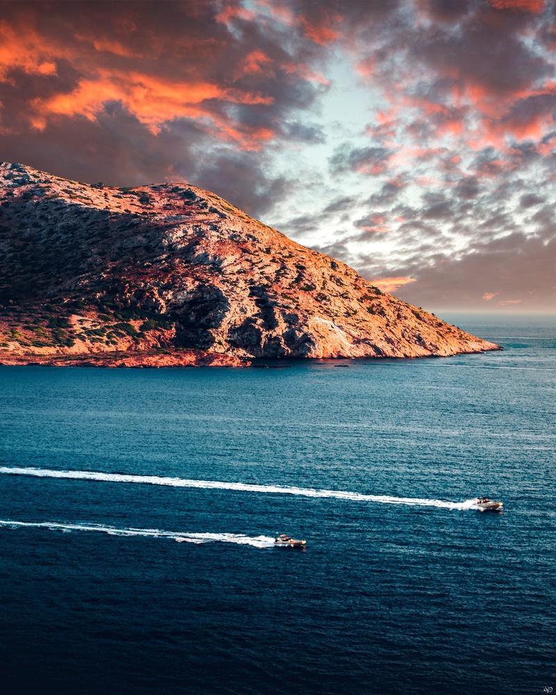 Patroklos Island by Nickolas Koursioumpas