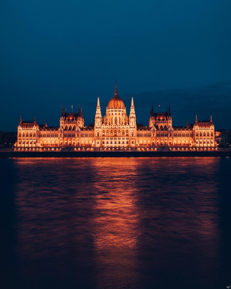 Budapest Parliament by Nickolas Koursioumpas
