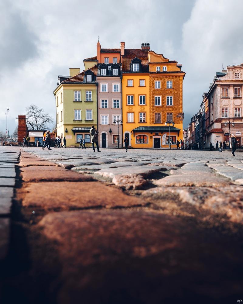 Warsaw Old Town, Warsaw, Poland by Nickolas Koursioumpas