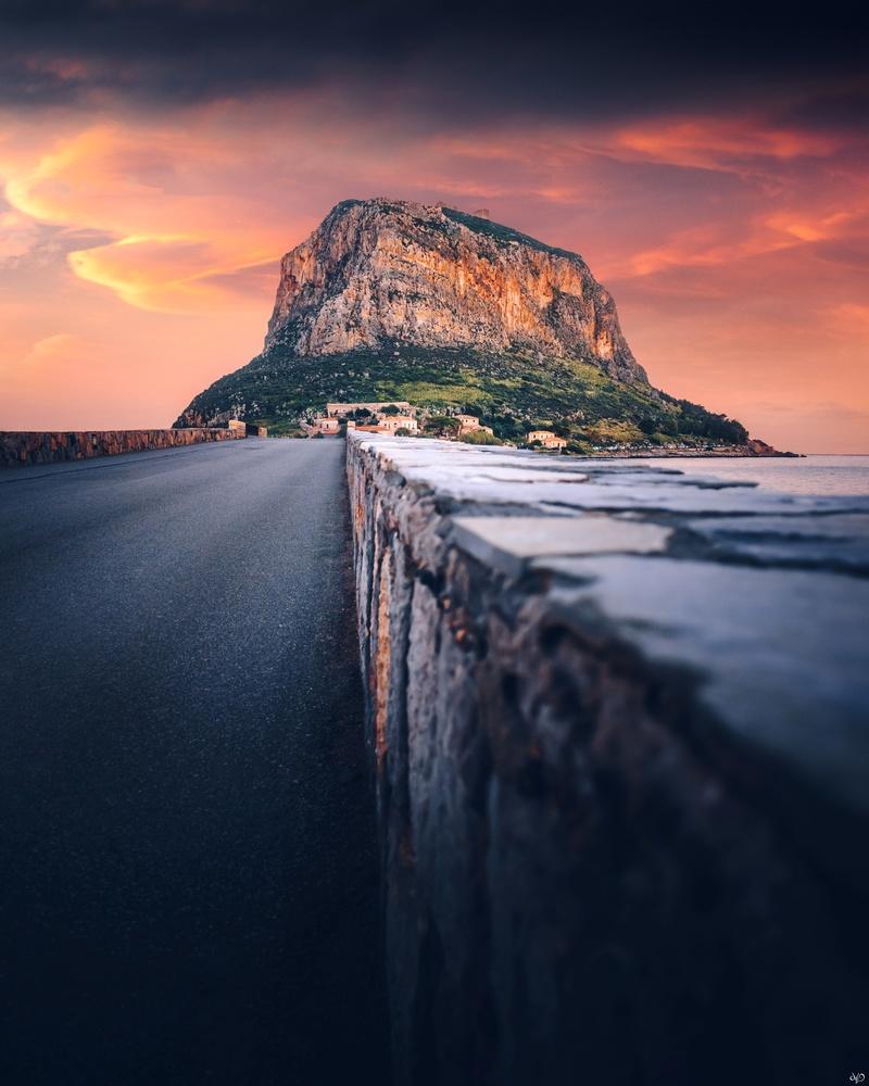 Monemvasia, Greece by Nickolas Koursioumpas