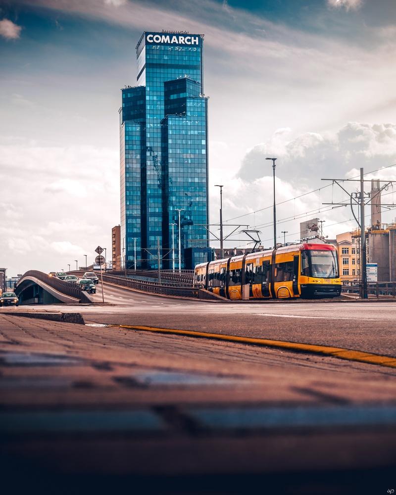 Warsaw City Center by Nickolas Koursioumpas