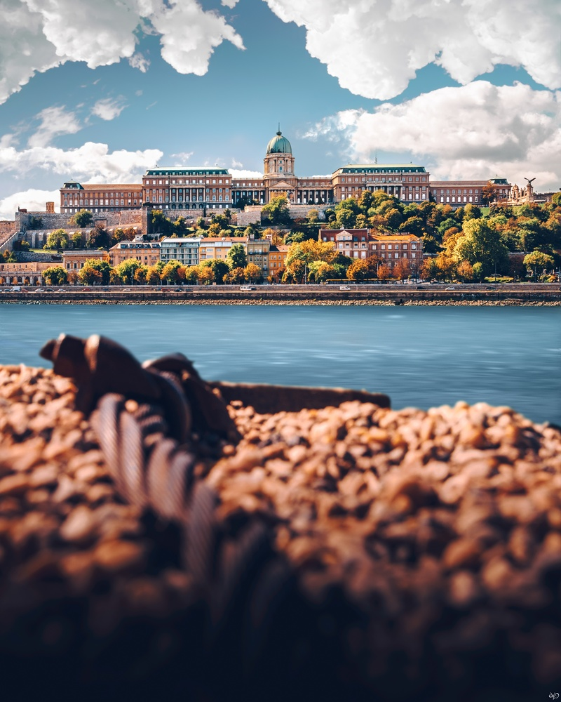 Buda Castle, Budapest, Hungary by Nickolas Koursioumpas