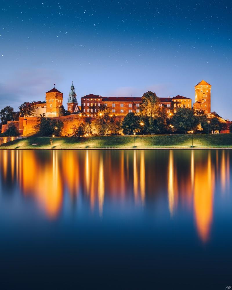 Wawel Castle by Nickolas Koursioumpas