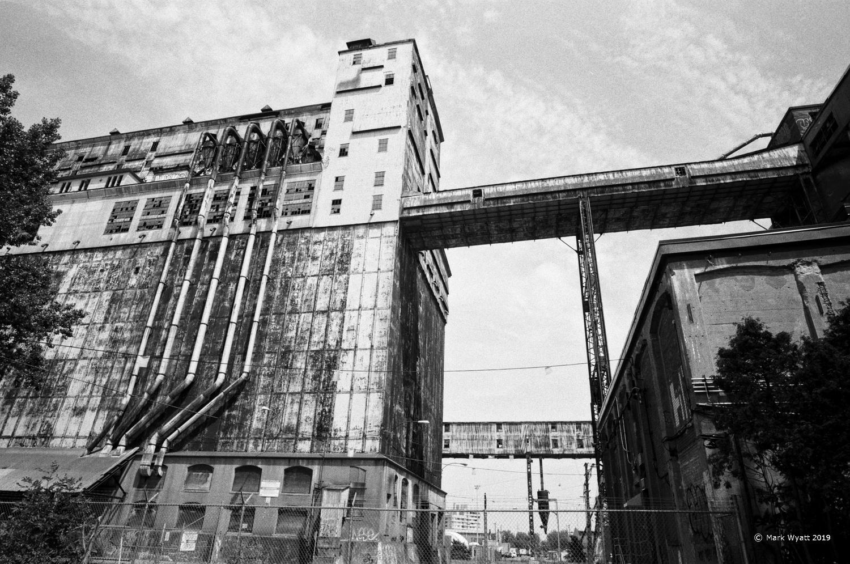 Grain Elevators by Mark Wyatt