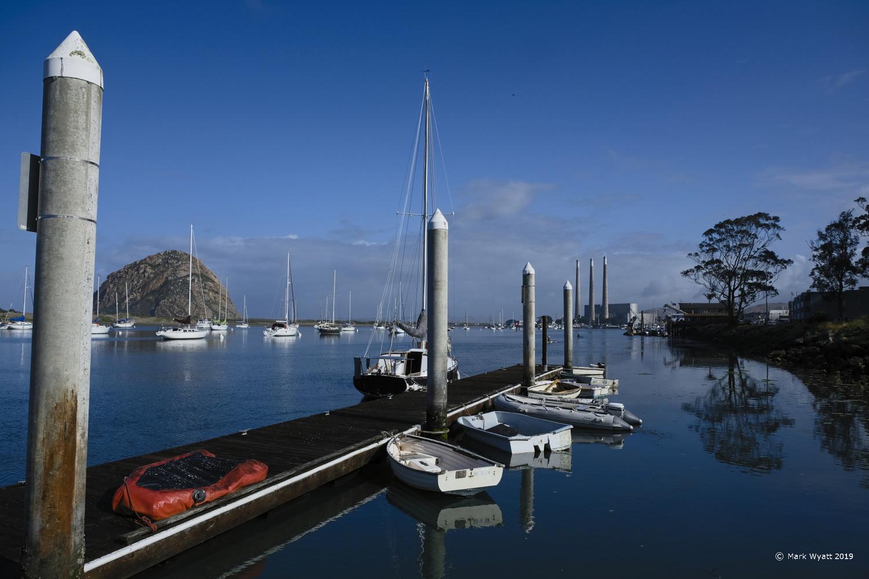 Dock, Morro Bay by Mark Wyatt