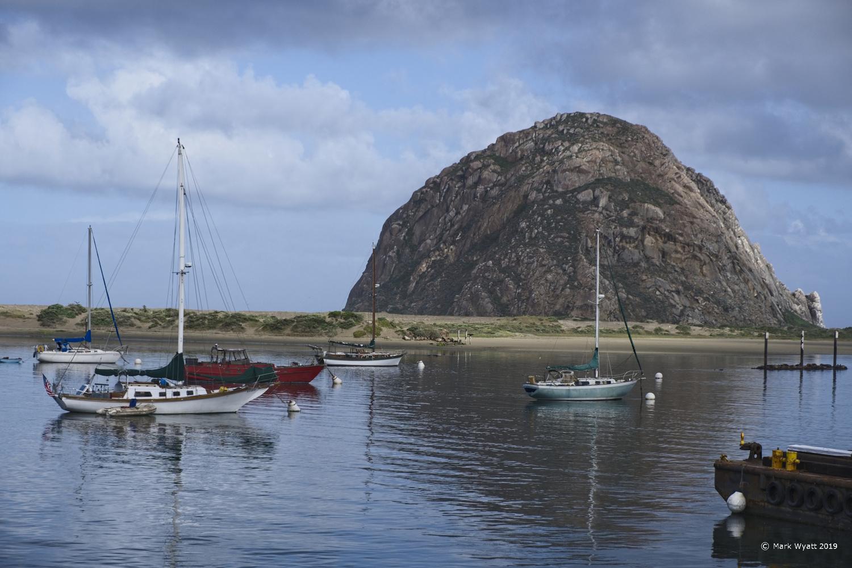 Morro Bay Scene by Mark Wyatt