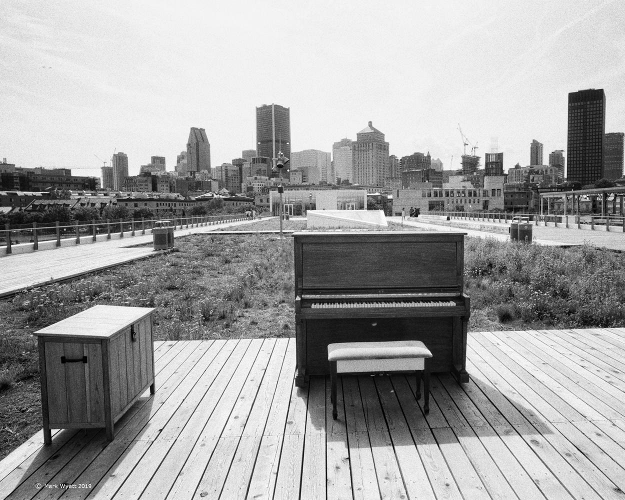 The Piano by Mark Wyatt