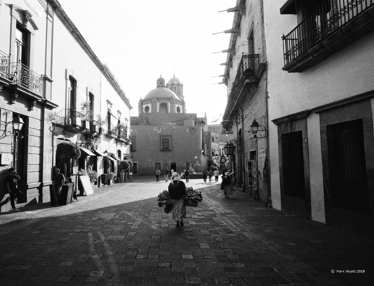 Mexico Street Scene by Mark Wyatt