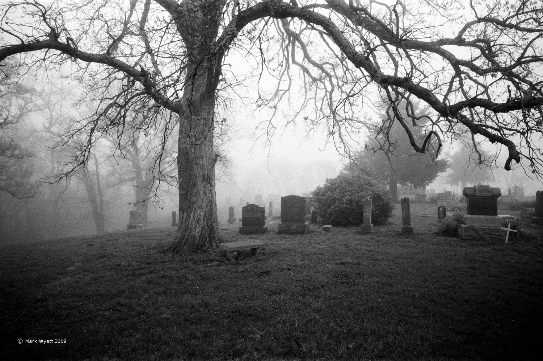 Wyandotte Cemetery by Mark Wyatt