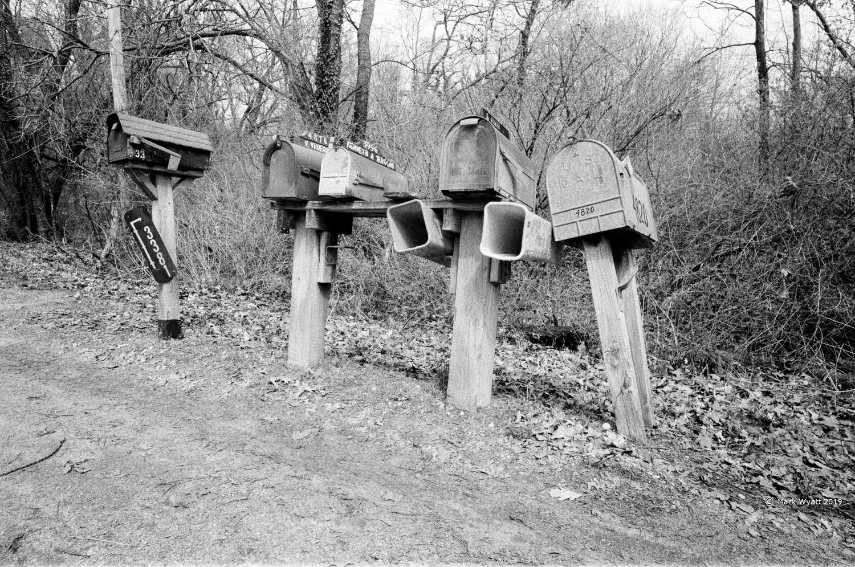 Mailboxes by Mark Wyatt