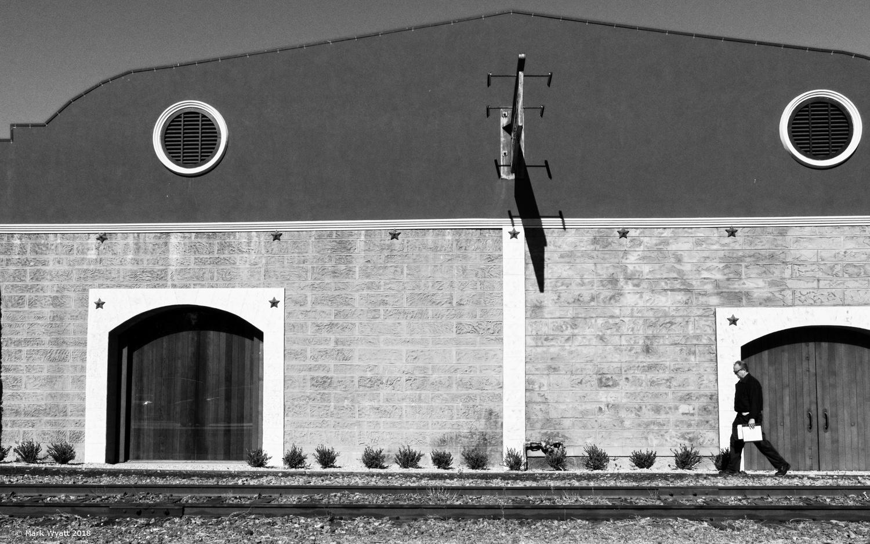Railroad Walker by Mark Wyatt