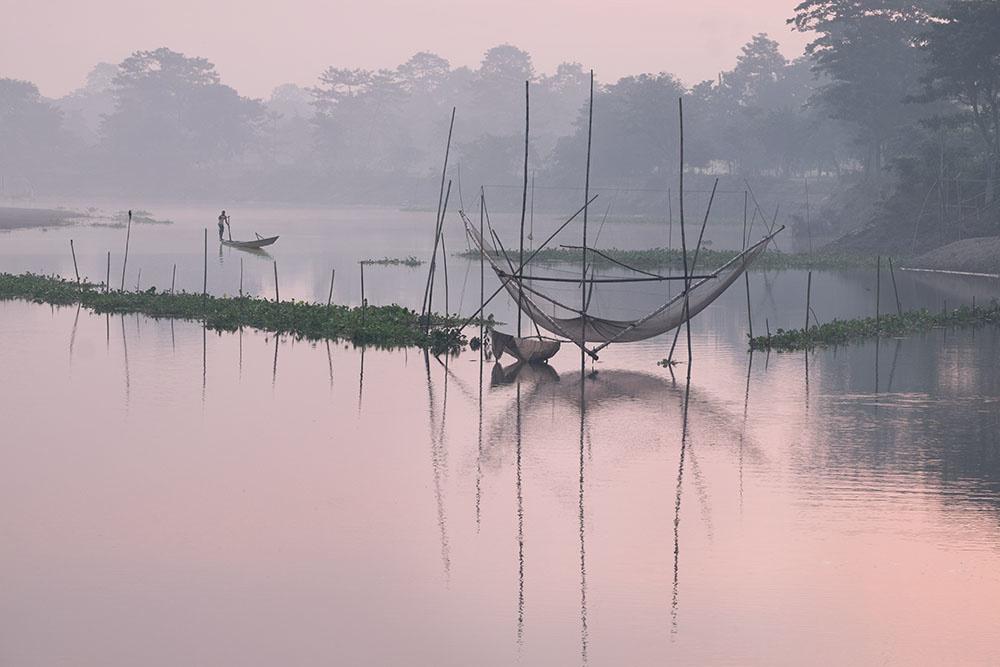 Brahmaputra Dawn by Peter Jones