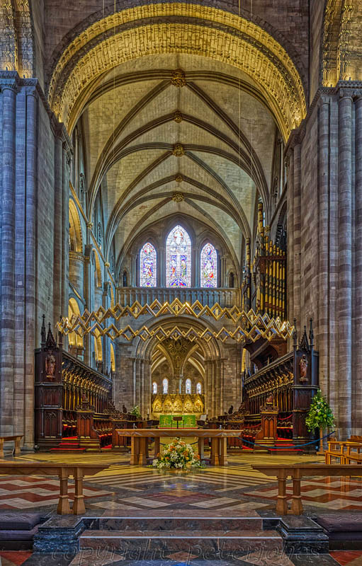 Hereford Cathedral by Peter Jones