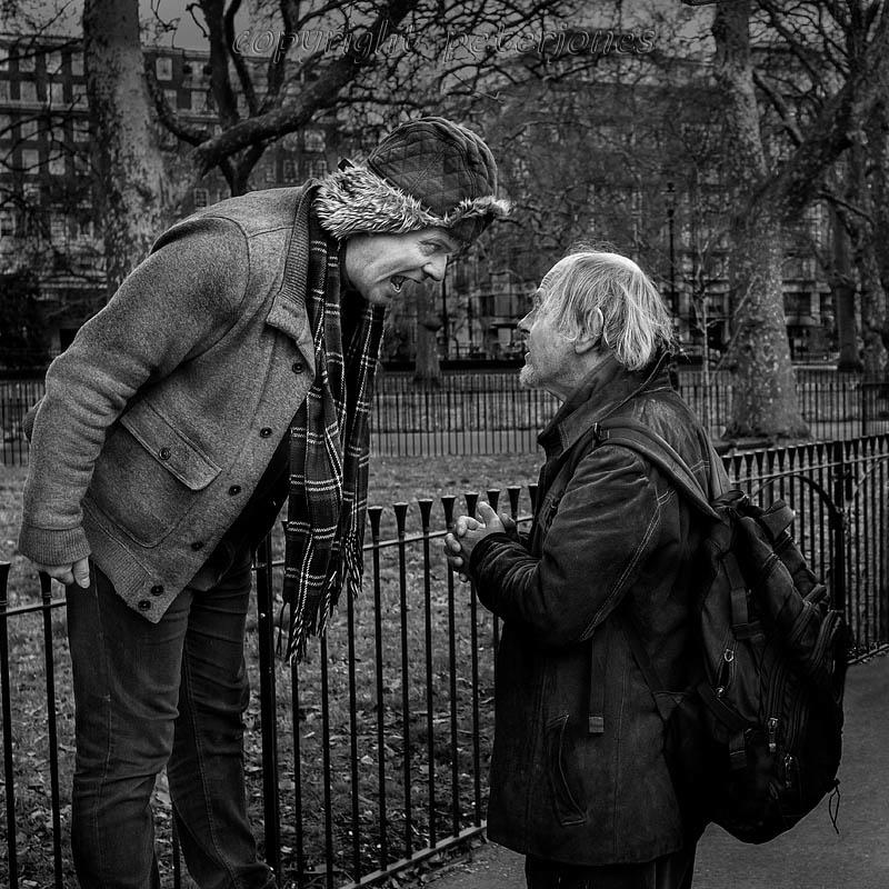 confrontation by Peter Jones