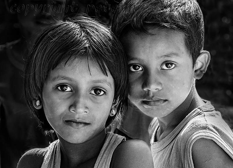 Assamese Children. by Peter Jones